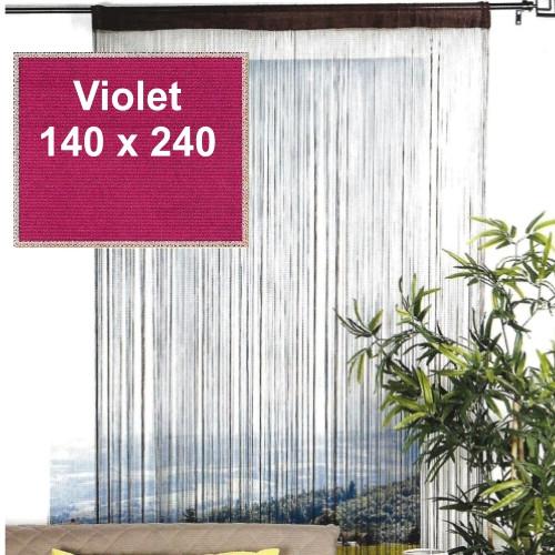 Trådgardin Lovely Casa - 140 x 240 cm, violet