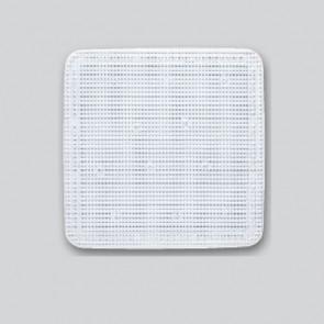 Bademåtte, 55x55, hvid