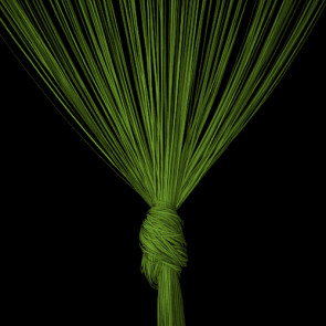 Trådgardin lime