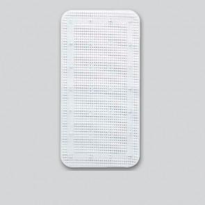 Bademåtte, 36x72, hvid