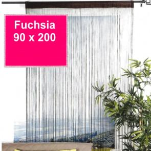 Trådgardin - 90 x 200 cm, violet