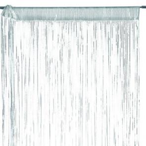 Patricia - Hvid/Sølv 90 x 250