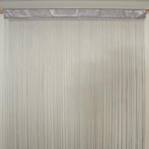 Waterfall trådgardin 100 x 250 cm - grå